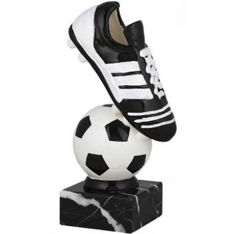 Trofeo fútbol cerámica